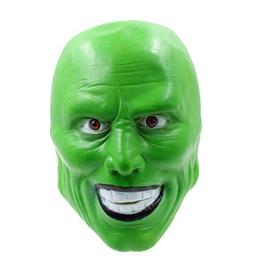 Wholesale jim carrey mask for sale - Group buy Scary Mask Jim Carrey Masks Halloween Adult Latex Mask Movie Cosplay Toy Props Party Fancy Dress