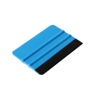 1 Set Professional Car Wrapping Tools Vinyl Safety Cutter & Felt Edge Squeegee Scraper Safety Sticker Cutter Auto Scraper