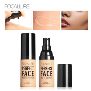ingrosso fondamento liquido impermeabile-FOCALLURE Face Makeup Base Face Liquid Cream Cream Concealer Idratante Oil control Waterproof Foundation perfect face opaco Primer
