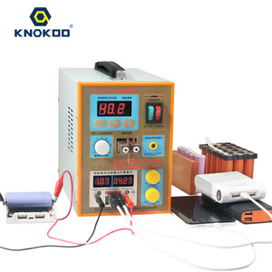 KNOKOO S788H-USB Preciston Pulse Portable Spot Welder with Battery Charge and Test of Lithium Battery, Mobile Power Bank Test