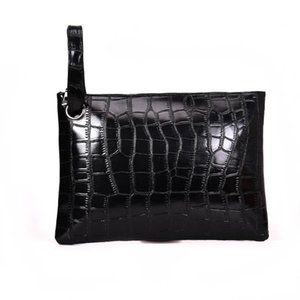 Wholesale Women Clutch bag Alligator Pattern Wrist band Lady Banquet Package Trend party girl bag Envelope Wrist Wrap Hot Sale Handbag