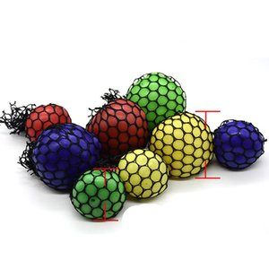 Wholesale 5cm cm cm Cute Anti Stress Face Reliever Grape Ball Autism Mood Squeeze Relief Healthy Toy Funny Gadget Vent Decompression toys B