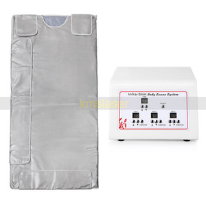 Wholesale 3 Zone Far Infrared Lymph Drainage Body Slimming Sauna Blanket Weight Loss Detox Heating Spa Machine