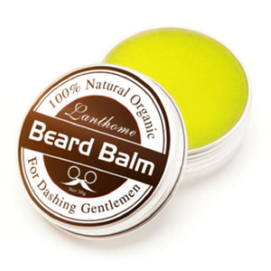 Wholesale Natural Beard Conditioner Beard Balm For Dashing Gentlemen 30g Natural Organic Moustache Wax For Whiskers Smooth Styling Fast Shipping