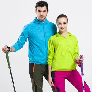 Wholesale Male and female flimsy Sunscreen hoodie