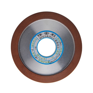 Freeshipping 1pc Diamond Grinding Wheels Hypotenuse 150 180 240 320 Grits Grinding Disc 125mm For Carbide Milling Cutter PowerTool