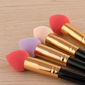 Wholesale beauty blender brushes resale online - In Stock Makeup Foundation Sponge Puff Blender Blending Flawless Powder Smooth Cosmetic Smooth Puff Brush Beauty Tool
