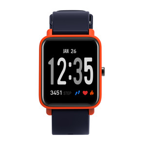 Wholesale Intelligent heart rate blood pressure blood oxygen detection wrist watch healthy sports monitoring remote control photo information push