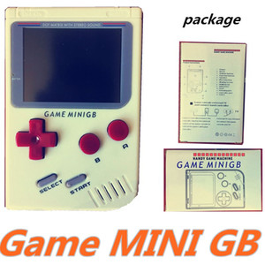 Game MINI GB Portable Retro Mini Handheld Game Console Color LCD Game Player free DHL