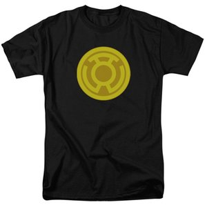 Wholesale Green Lantern YELLOW LANTERN SYMBOL Licensed Licensed Adult T Shirt All Sizes fan pants t shirt