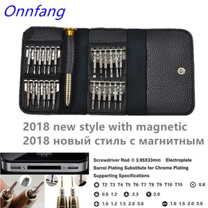Wholesale tools sets resale online - 25 in1 Precision Screwdriver torx precision hand tool set for mobile phones bits for screwdriver MultiTools watch