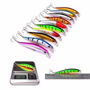 Wholesale Proberos piece Set ABS Plastic Classic Fishing Lures Minnow Hard Bait Crankbait Spinner Baits Wobblers carp fishing Fly Fishing Lure