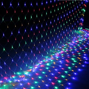 Wholesale Fishing Festival Led Decoration Fishing Net Lights Lamp Christmas Wedding Party Halloween Home Outdoor Bar Ornament Light String Ckg147