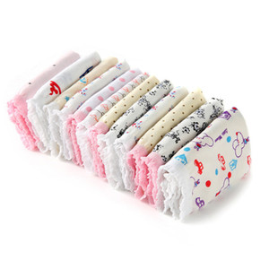 10pcs lot Kids Underwear Panties Girls 100% Cotton Baby Pants Cute Girls Underwear Mixed Color Cueca ZJ-MH28T