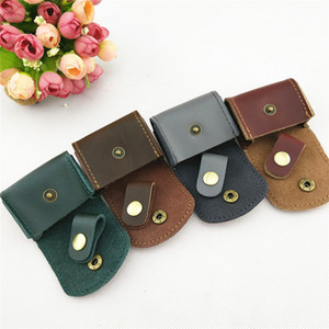 Wholesale Leather earphone storage bag multi-color coin coin bag earphone bag
