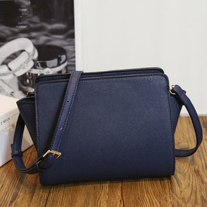 Wholesale {Original Logo} Leather Women Messenger Crossbody Shoulder Bag 2018 Brand Fashion Luxury Designer Bags Free Shipping