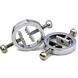 Bdsm Metal Nipples Clamps Breast Clips Papilla Stimulator Bondage Slave In Adult Games Fetish Sex Products Toys For Women
