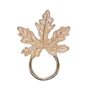 Fantastic Enameled Maple Leaf Style Eyeglass Holder Brooch Pin Jewelry Gift Wholesale 6PCS LOT FREE SHIPPING