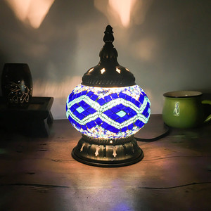 Retro national style bedroom bedside Nightlight restaurant cafe bar Turkey decorative lamp