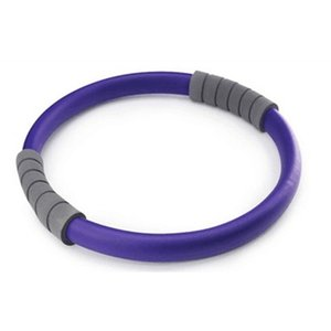32cm Glass Fiber Professional Slimming Purple Magic Ring Durable Pilates Fitness Circle Yoga Accessory Q on Sale