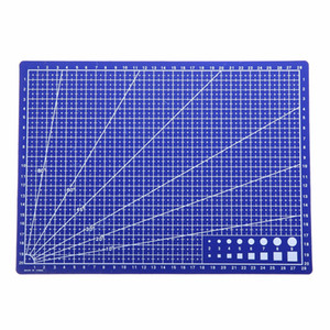 изготовление бумажных карточек оптовых-A4 Grid Lines Self Healing Cutting Mat Craft Card Fabric Leather Paper Board For Model Making And Other Precise Jobs