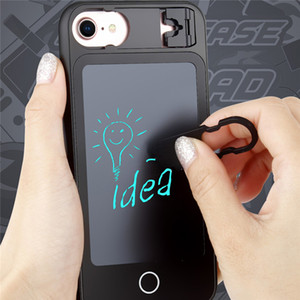 Wholesale Soft TPU For IPhone plus plus plus Case With Wordpad Writting Board Phone Cover With Folding Stand Phone Accessorise