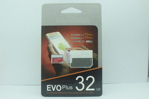 HOT New arrival Class10 EVO PIUS 128GB 64GB 32GB MicroSD Card Micro SD TF Card SDHC SD 80MB s Adapter 30pcs