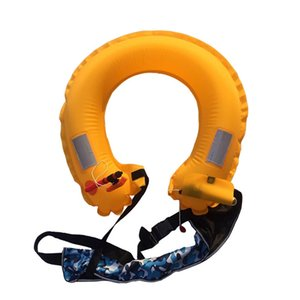 Wholesale Inflatable Life Buoy Swimming Waist Belt Life Saving Floating Rings Swimming Pool Safety equipment