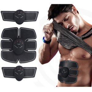Wholesale Wireless Muscle Stimulator Smart Fitness Abdominal Training Device Electric Weight Loss Stickers Body Slimming Belt Unisex