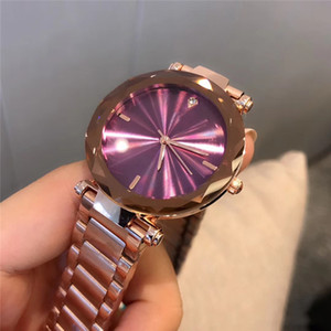 Wholesale New Hot Ultra thin rose gold wristwatch quartz watches luxury nurse ladies dresses female Folding buckle wristwatch gifts for girls