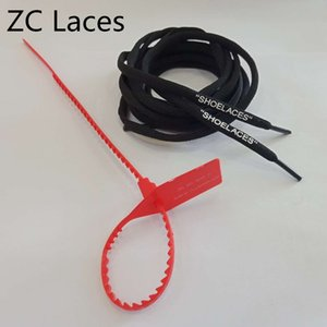 C.2018 Red Zip Ties Shoelaces Buckle With Off Shoe Laces Colorful Oval Silicone Printing SHOELACES Polyester Shoestrings With Zip Tag