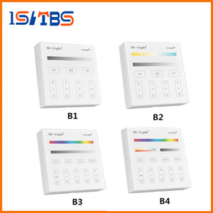 Wholesale mi bulb for sale - Group buy Mi Light B1 B2 B3 B4 Panel Controller X AAA Battery G RF Touch Screen Control for CCT DIM RGB RGBW RGB CCT LED Strip Bulb