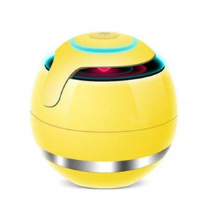 Wholesale Magic Ball Wireless Portable Bluetooth Speakers with Subwoofer Mini Round Hi Fi Speaker Indoor Outdoor for iPhone iPad good