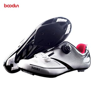 wholesale Professional Self-Locking Cycling Shoes Road Bike Bicycle Shoes Ultralight Athletic Racing Sneakers Racing Shoes on Sale
