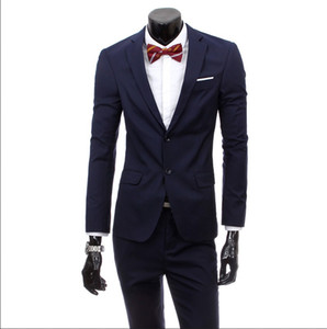 Wholesale 2016 new brand clothing arrived gentleman stlye color elegant hot sale suit men s suit man blazer men blazers factory price