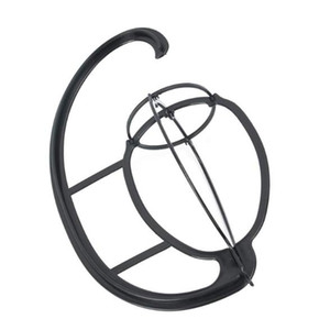 New Portable Wigs Hanger Hanging Hat Cap Stand Collapsible Dryer Durable Holder Wig Shelf Hat Bracket Hook for Long Hair