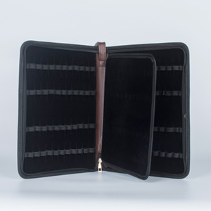 Fountain Pen Case 48 Leather New Coffee Color New Arrival