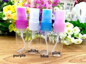 Free Shipping 10ml Empty Cosmetic Container high quality PET Plastic Spray Bottles for Make Up and Beauty Skin Care