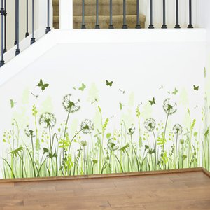 ingrosso interni di cucina-Fundecor Dandelion wall stickers home decor living room kitchen decalcomanie decorative per interni Adesivi fai da te sul muro