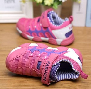 Wholesale 2018 New Brand Children Shoes Sport Shoes Boys and Girls Sneakers Kids Running Shoes for Children size:25-37 Chaussure