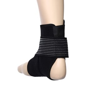 Wholesale Adjustable Bandage Ankle Support Pad Cloth Stretch Nylon Material Elastic Ankle Brace Protector