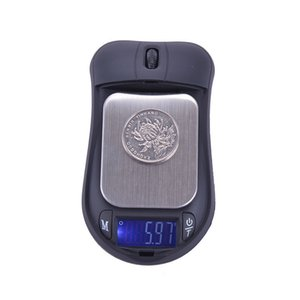 New 100  200 300 500g x 0.01g and 500x0.1g Mouse mini Portable Electronic Digital Pocket Jewelry Scale Balance Pocket Gram LCD Display