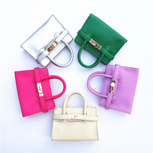 9 Colors New Arrival !Children's Fashion Leather Handbags Kid's Brand New Totes Kids Mini Purse Preschool girls shoulder bag Wallets CM017 on Sale