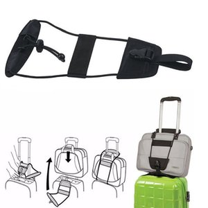 Wholesale Bag Bungee Add A Bag Strap Travel Luggage Suitcase Adjustable Belt Carry On Straps Home Supplies Portable Cords Factory Price