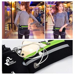 Free Knight Running Hydration Belt,Women Men Sport Running Hip Waist Bag,Waterproof Jogging Gym Waist Pack With Water Bottle