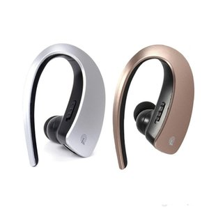 Wholesale Wireless Bluetooth V4 Headset Earphone Headphone Ear hook CVC Noise Cancellation Sport Hands free with MIC for iPhone Samsung