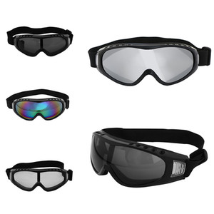 Wholesale 1 Pcs Men's Anti-fog Motocross Motorcycle Goggles Off Road Auto Racing Mask Glasses Sunglesses Protective Eyewear