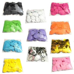 Wholesale Top Sale Mixed Colors Round Tissue Paper Confetti G Per Bag Inch Cm Birthday Christmas Wedding Party Table Decorations