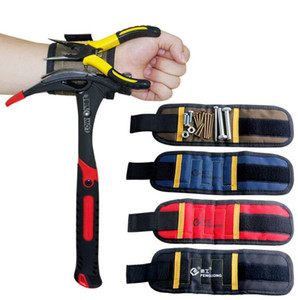 Wholesale Magnetic Wristband mm With Strong Magnets Oxford Cloth Pocket Tool Electrician Tools Bag For Holding Screws