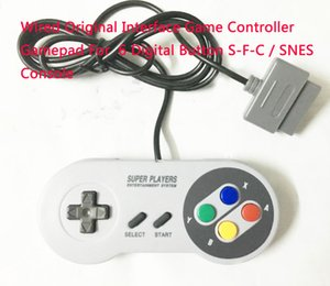Wholesale Wired Original Interface Game Controller Gamepad For Digital Button S F C SNES Console